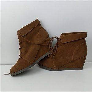 Madden girl wedge ankle boots